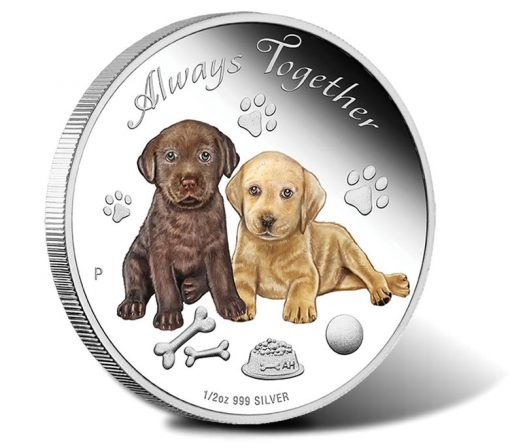 2016 50c Always Together 1/2 oz Silver Proof Coin
