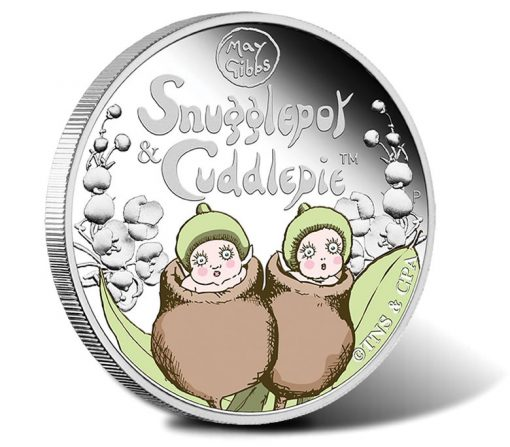 2016 50c Snugglepot & Cuddlepie 1/2 oz Silver Proof Coin