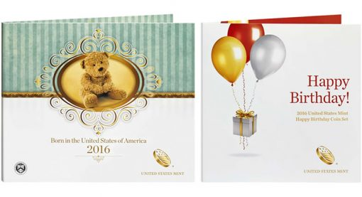2016 Birth Set, 2016 Happy Birthday Coin Set