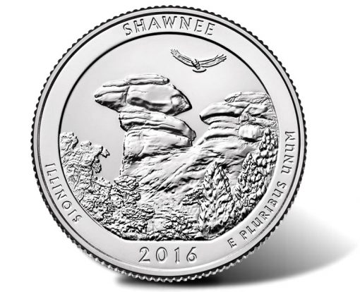 2016 Shawnee National Forest Quarter