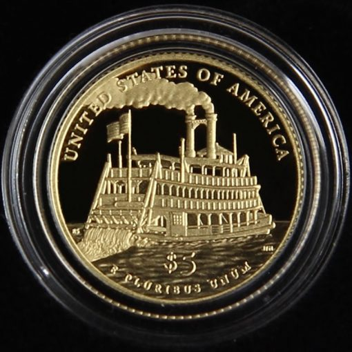 2016-W $5 Proof Mark Twain Commemorative Gold Coin in Capsule