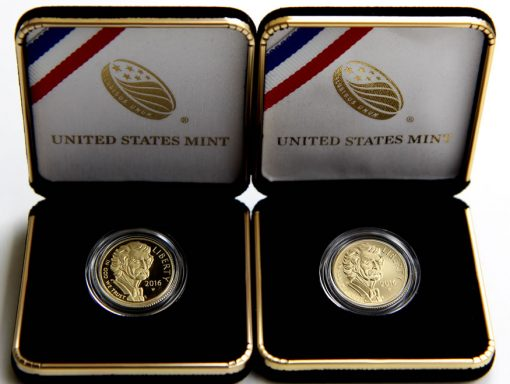 2016-W Proof and Uncirculated $5 Mark Twain Commemorative Gold Coins