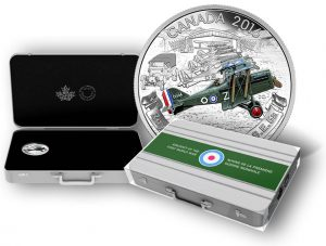 Canadian 2016 Coin Series Features Aircraft of WWI