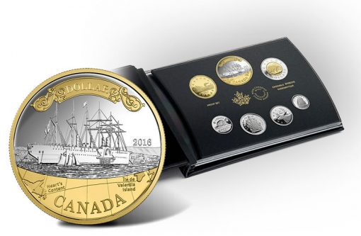 Canadian 2016 Silver Proof Set, 150th Anniversary of the Transatlantic Cable