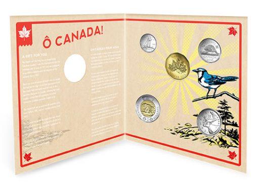 Opened 2016 O Canada Gift Set