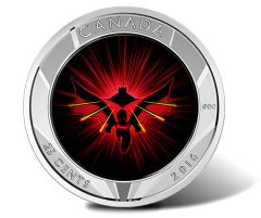 2016 25c Batman v Superman 3D Coin