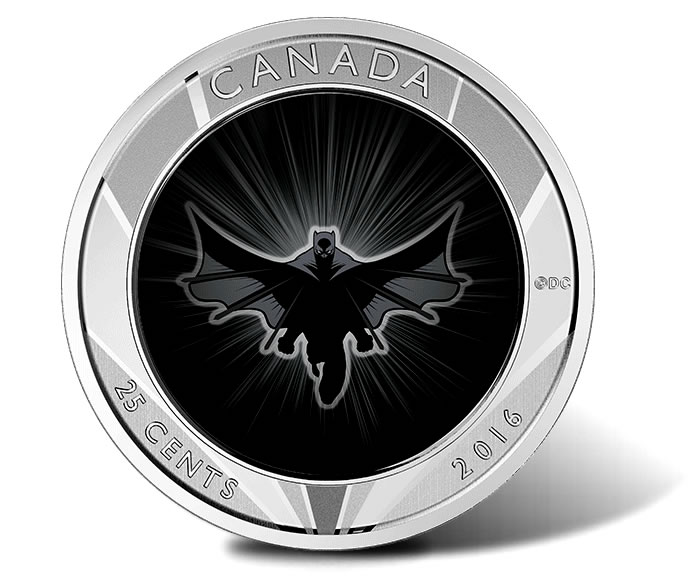 Canadian 2016 Batman V Superman Coins Launch Coin News