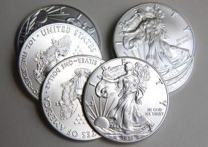2016 American Silver Eagles