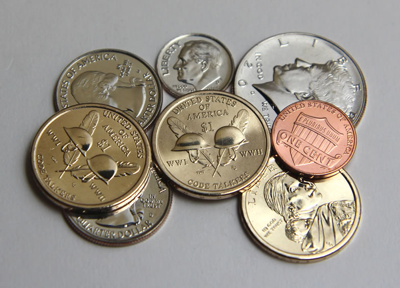 us currency coins pictures