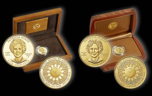 2016 Patricia Nixon First Spouse Gold Coins and Cases