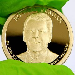 2016-S Proof Ronald Reagan Presidential $1 Coin, e