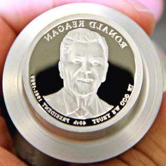2016-S Ronald Reagan Presidential $1 Coin Die, b-1