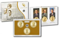 Coins and Packaging of 2016 Presidential $1 Coin Proof Set