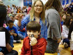 Kids getting free Shawnee quarter, a