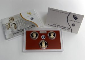 2016 Presidential $1 Coin Proof Set Photos and Debut Sales