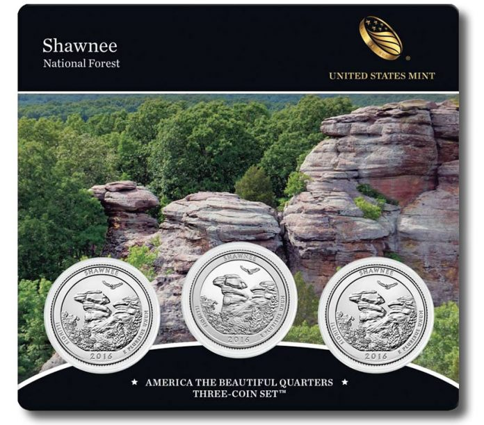Shawnee National Forest Quarters Three-Coin Set