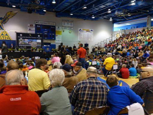 Shawnee quarter ceremony, attendees