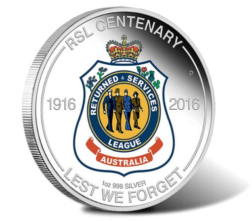 2016 $1 RSL Centenary Silver Proof Coin