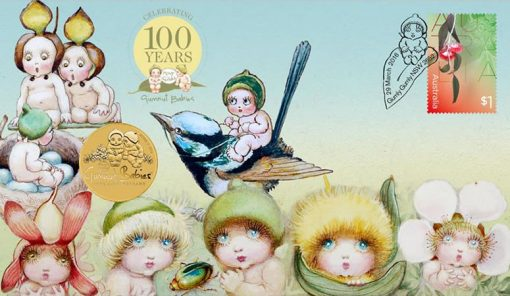 2016 100th Anniversary of Gumnut Babies Stamp and Coin Cover