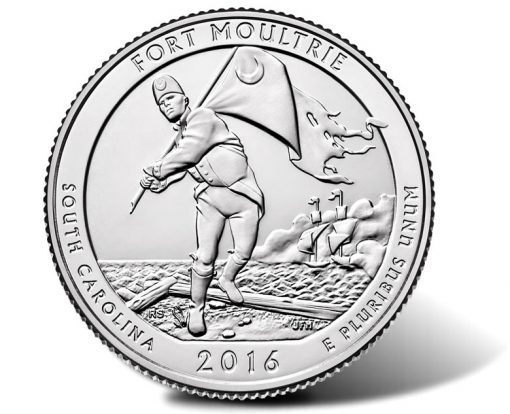 2016 Fort Moultrie Quarter