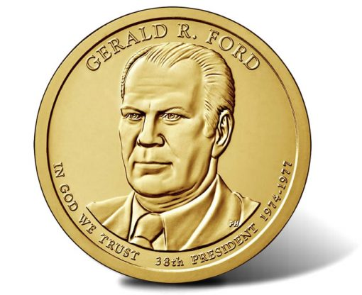 2016 Gerald R. Ford Presidential $1 Coin