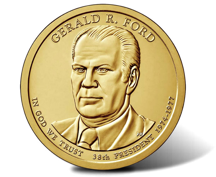 the life and presidency of gerald r ford Gerald r ford, 38th president of the united states, was the first person to assume the offices of vice president and president upon the resignation of his predecessors this followed upon 25 years of service in congress, including eight as house minority leader the future president was born leslie .