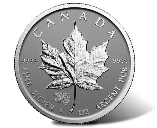 2016 Grizzly Privy Silver Maple Leaf Bullion Coin, Reverse