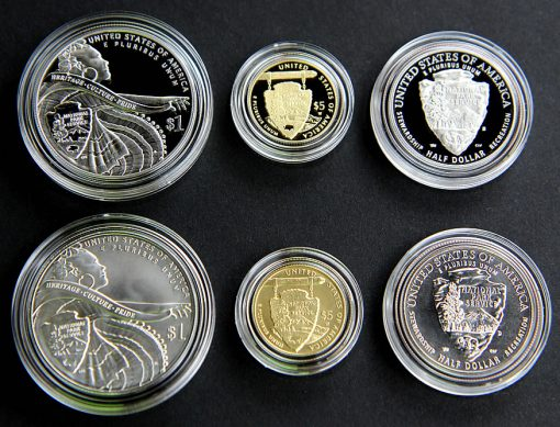 2016 National Park Service 100th Anniversary Commemorative Coins, Reverses