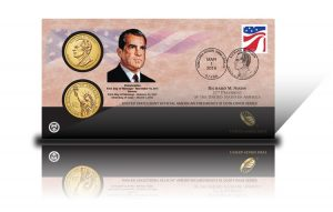 2016 Richard M. Nixon $1 Coin Cover