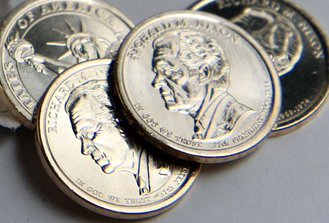 2016 Richard Nixon dollars