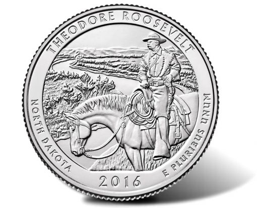 2016 Theodore Roosevelt National Park Quarter