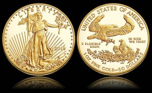 2016-W $50 Proof American Gold Eagle