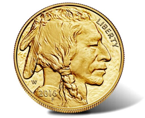 2016-W Proof American Gold Buffalo, Obverse