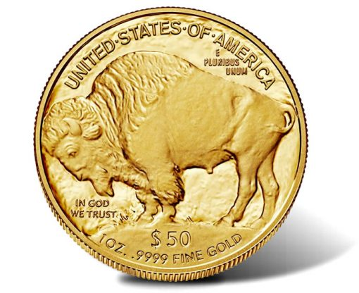 2016-W Proof American Gold Buffalo, Reverse