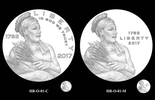 2017 American Liberty HR Obverse Design Candidates - HR-O-01