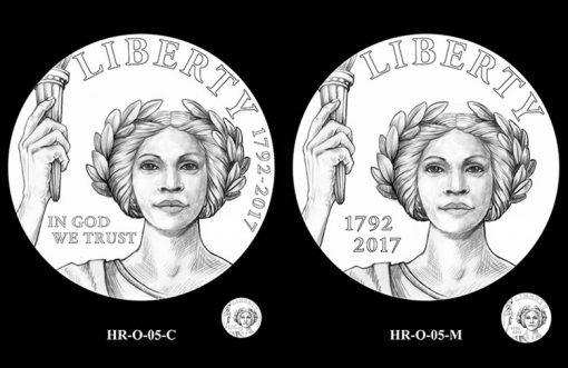 2017 American Liberty HR Obverse Design Candidates - HR-O-05