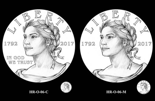 2017 American Liberty HR Obverse Design Candidates - HR-O-06