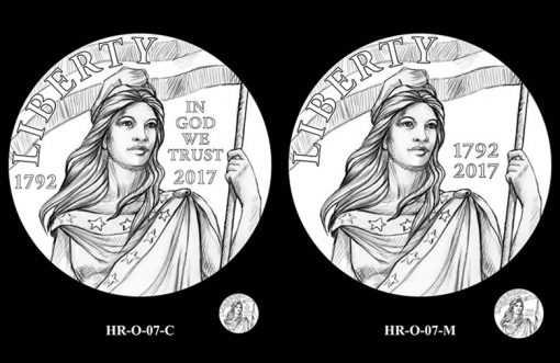 2017 American Liberty HR Obverse Design Candidates - HR-O-07