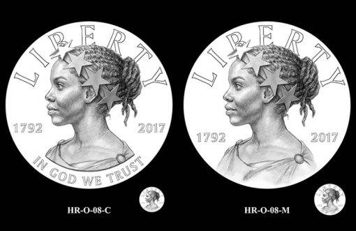 2017 American Liberty HR Obverse Design Candidates - HR-O-08