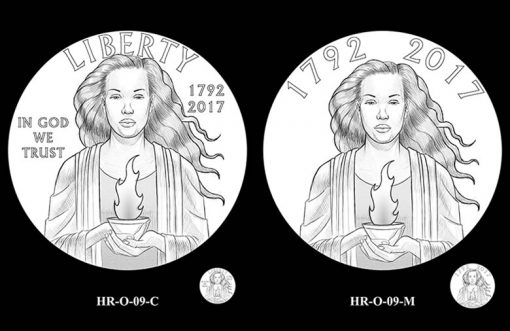 2017 American Liberty HR Obverse Design Candidates - HR-O-09