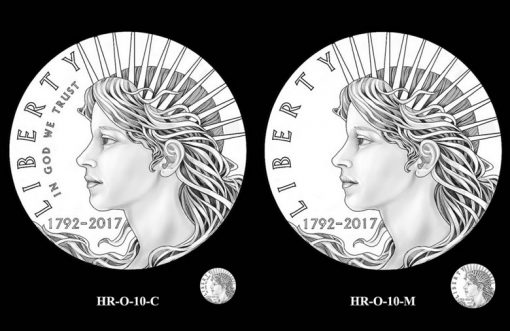 2017 American Liberty HR Obverse Design Candidates - HR-O-10