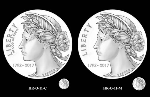 2017 American Liberty HR Obverse Design Candidates - HR-O-11