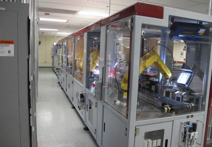 Farason Robotics Packaging System for Proof Sets jpg