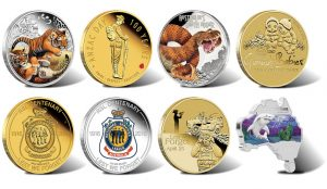 2016 Australian Collectible Coins for March