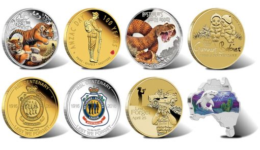 Perth Mint Australian Coin Releases for March 2016