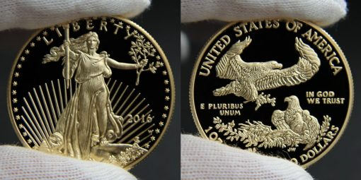 Photo of 2016-W $50 Proof American Gold Eagle