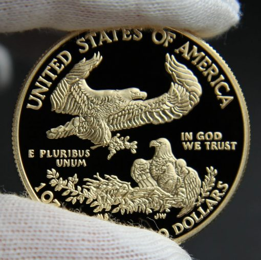 Photo of 2016-W $50 Proof American Gold Eagle, Reverse