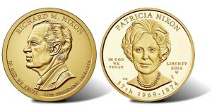 Richard and Pat Nixon Coins
