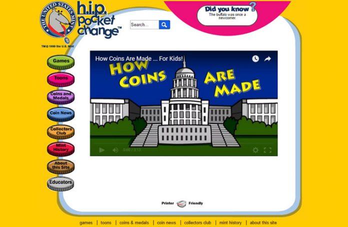 US Mint Educational web page
