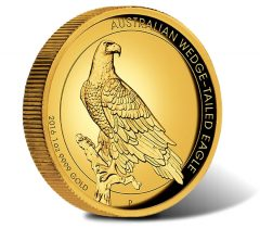 2016 $100 Wedge-Tailed Eagle Gold Proof High Relief Coin